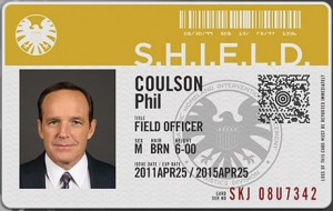 agent phil coulson badge shield