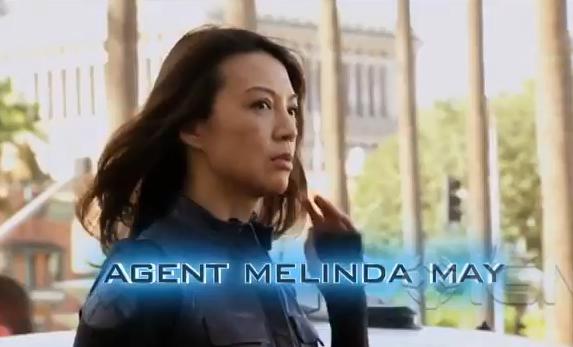Nouvelle vidéo, présentation de l'Agent Melinda May