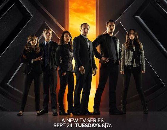 Premier poster officiel pour la série Agents of SHIELD