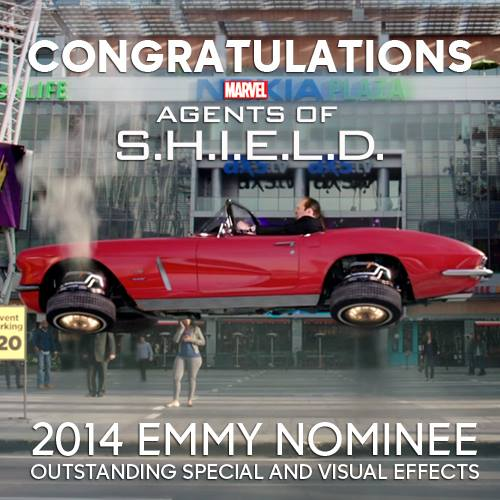 Agents of Shield obtient une nomination aux Emmy Awards 2014