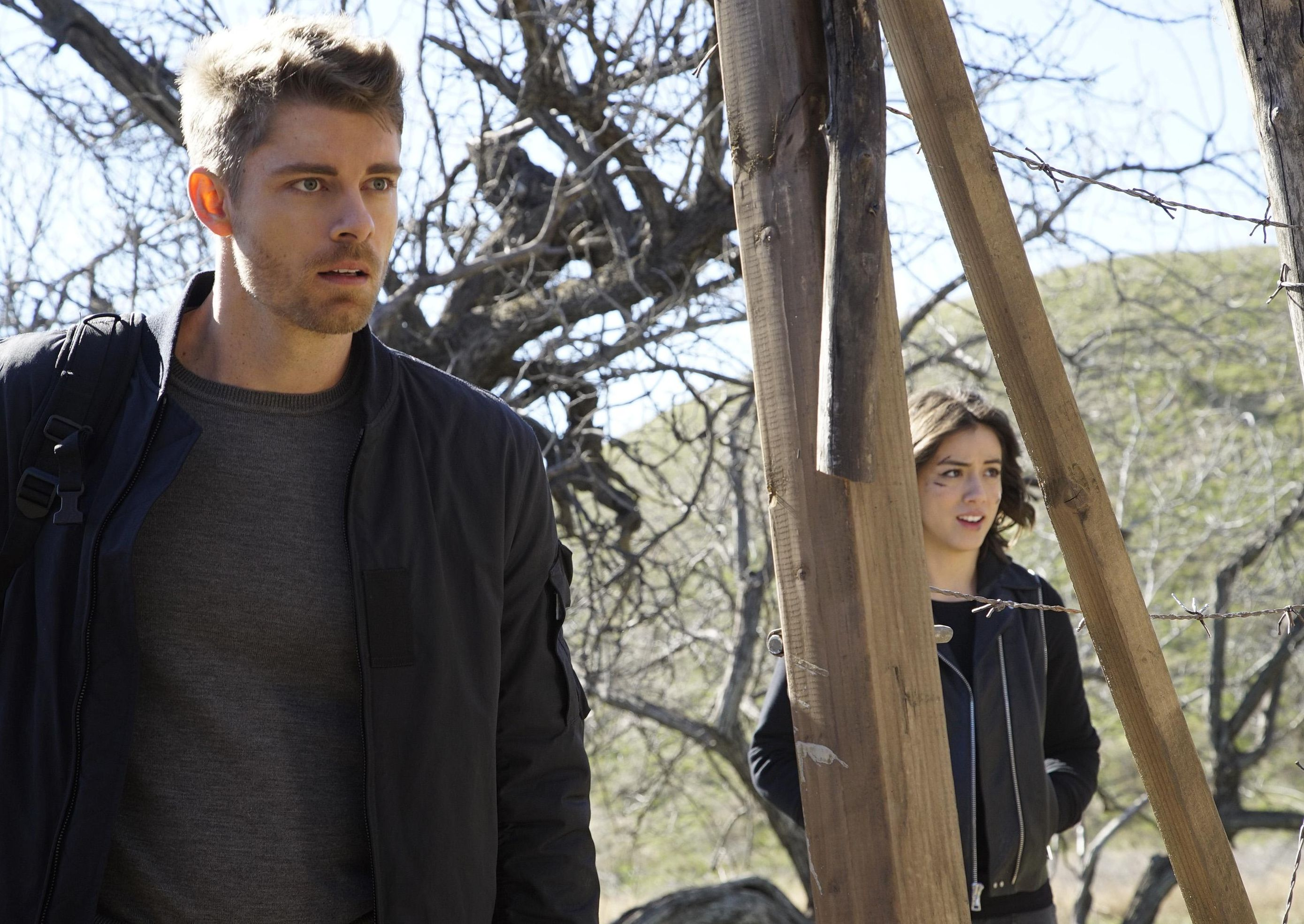 agents of shield 3x16  Daisy et Lincoln