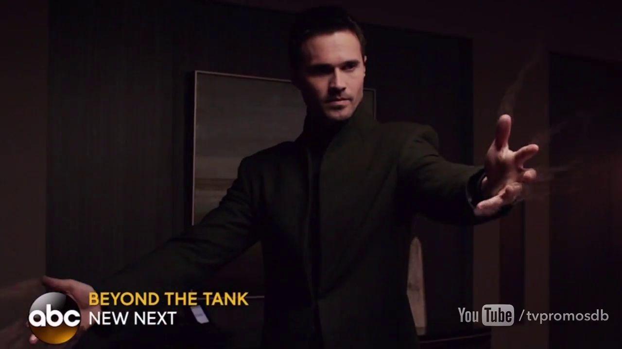 agents of shield ward comme dans matrix